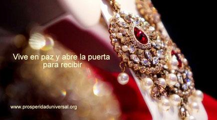 ARCÁNGEL   URIEL - VIVE EN PAZ  Y ABRE LA PUERTA PARA RECIBIR - PROSPERIDAD UNIVERSAL