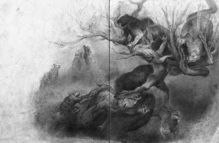 Matthias-Wyss-TAGESLICHT-DAYLIGHT-2011–2014-Pencil-On-Paper-22-x-44-Cm-15