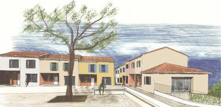 Projet d'habitat participatif à Fourquevaux © Faire-Ville