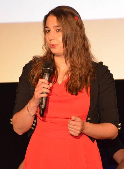 Pitch Goldener Spatz der Akademie für Kindermedien, Sarah M. Kempen