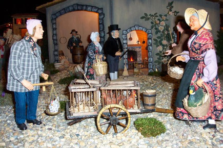 musee santon son et lumiere Vassieux en Vercors