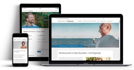 Webseite für Hypnotherapeut Bernd Veltmann