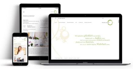 Webseite für Therapeutin Ragna Lüders