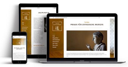 Webseite für Tim Ahlers