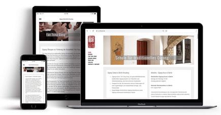 Webseite für Qi-Gong-Schule Kreuzberg