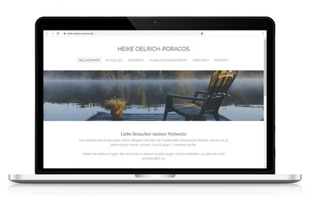Webseite für Qi-Gong Praxis