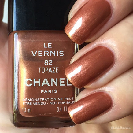 SWATCH CHANEL TOPAZE 82 by LackTraviata