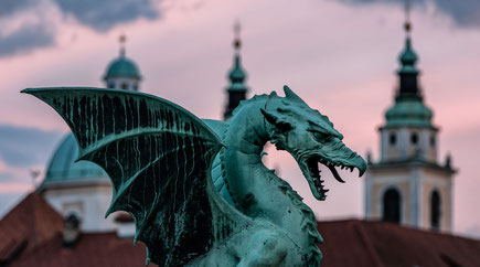 Ljubljana top things to do - City of Dragons