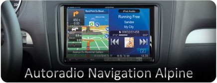 Autoradio navigation alpine