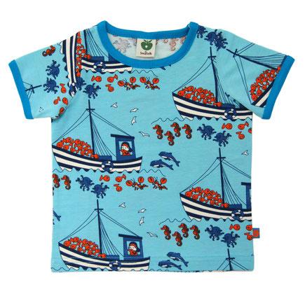 Smafolk Shirt Kran Blau