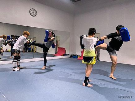 ▲次回のキックボクシング初心者クラスは1/8(水)20:00~です