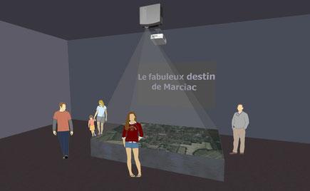 Projet de spectacle-maquette à Marciac (S. Goude, REOVIZ)