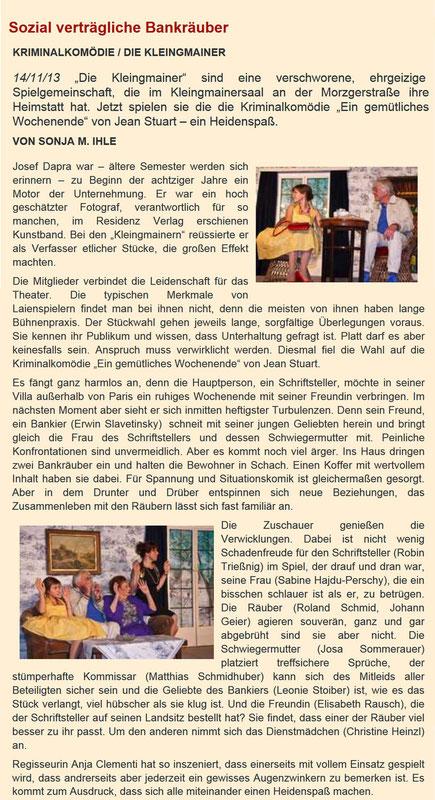 Drehpunkt Kultur 14.11.2013