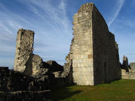 Les ruines du château de Ventadour - 19300 Moustier Ventadour