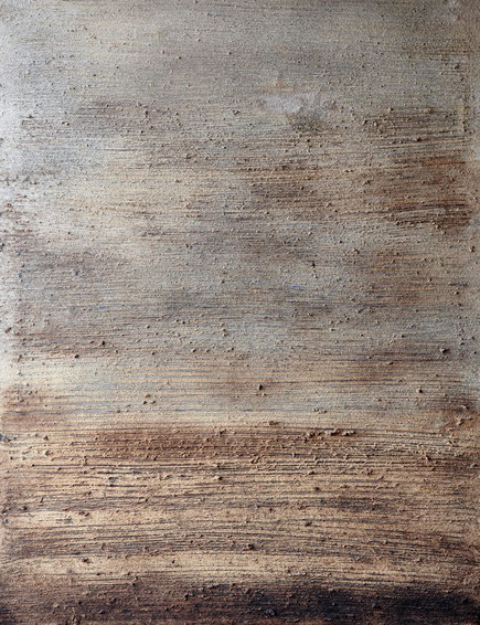 Amador Vallina: ohne Titel, Mischtechnik auf Leinwand, 2008, 117 x 90 cm