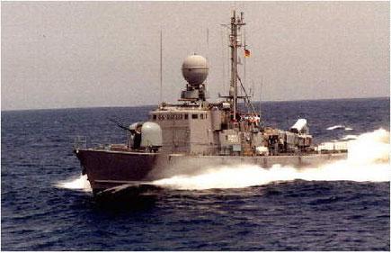 S-Boot Typ-Klasse 143a - Foto: Archiv FV