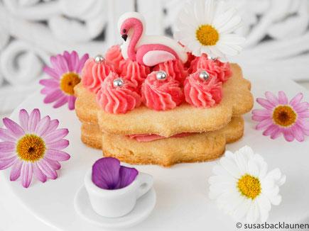Flamingokekse