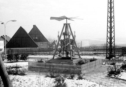 Bild: Wünschendorf Erzgebirge Weihnachtspyramide
