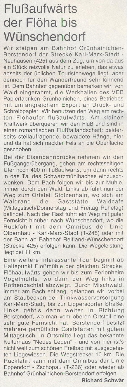 Bild.Wünschendorf Erzgebirge Stolzenhain
