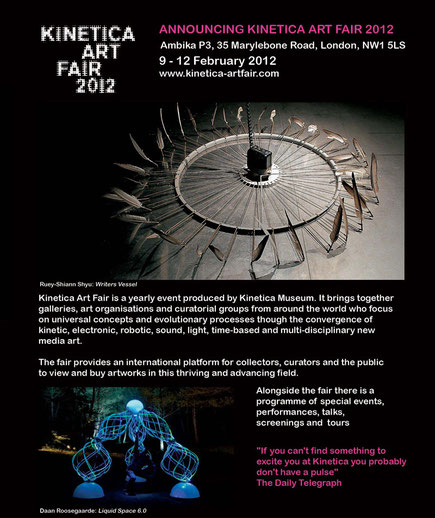 Kinetica Art Fair 2012, London