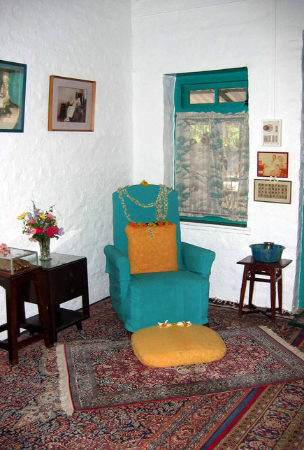 2004 - Baba's arm chair ; photo taken by Sher DiMaggio