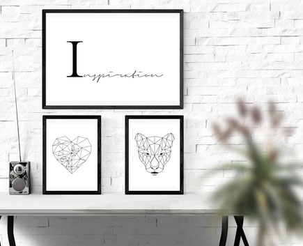 Typografie Print, Inspiration, Poster