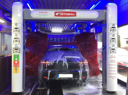 Modernisierung einer Waschstraße, alles erneuern - MAKSWASH, Porsche