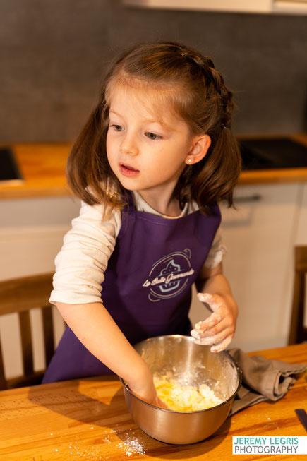 Séance Photo Famille autour d'un atelier Pâtisserie - avec la Collaboration de La Bulle Gourmande - JeremyLegris-Photography - Photographe sur Grenoble