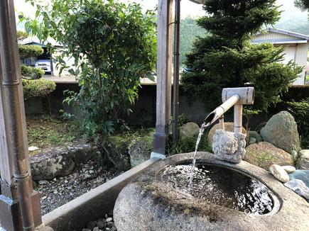 (霊験あらたかな神川の山水)