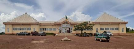 Hotel de ville Ngaoundéré 2ème. Début de construction en 2013