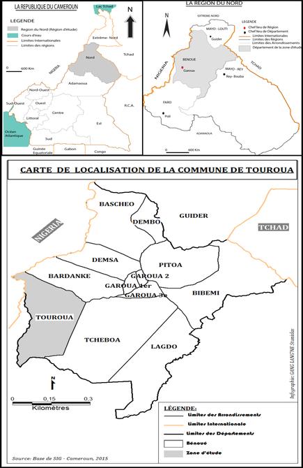 Carte de Touroua