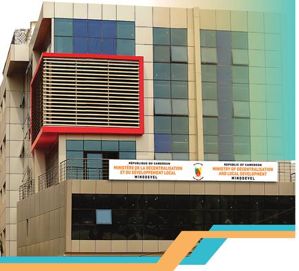 Le Ministère de la Décentralisation et du Développement local à Nlongkak, Yaoundé
