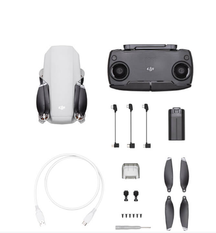 DJI Mavic Air fly more combo in the box