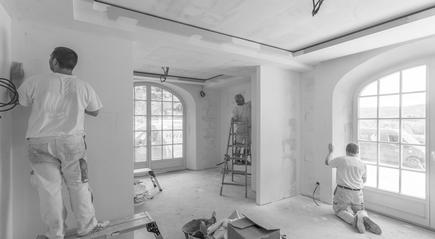 Renovierung von Wohnräumen - Wohnzimmer, Küche, Flur, Kinderzimmer, Büro