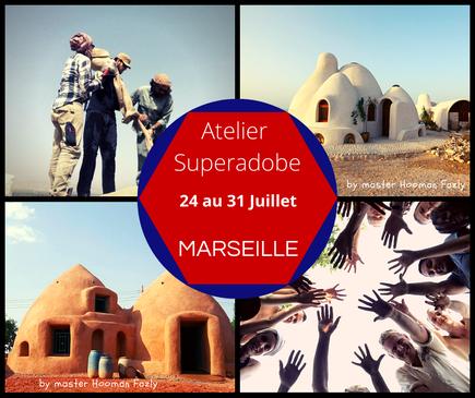 Atelier Superadobe Earthbag France