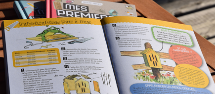 illustration, édition, nature, livret, atlas, carnets, guides