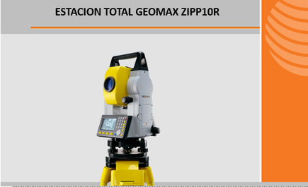 estaciones totales geomax zipp10R