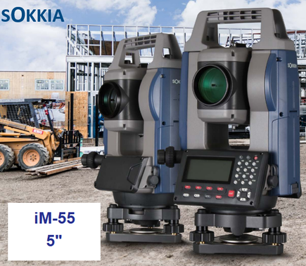 estaciones totales sokkia im55 con bluetooth