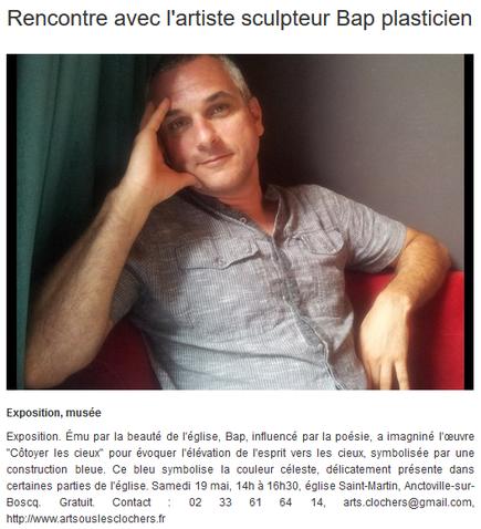 Info Locale Anctoville-sur-Boscq - 19 mai 2018