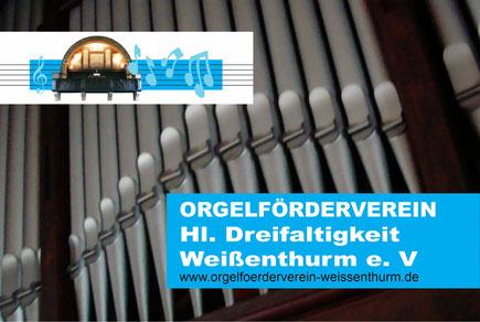 Helfen Sie mit, ein Stück Weißenthurm zu erhalten - durch eine Spende, eine Orgelpfeifenpatenschaft oder eine Mitgliedschaft im Orgelförderverein!