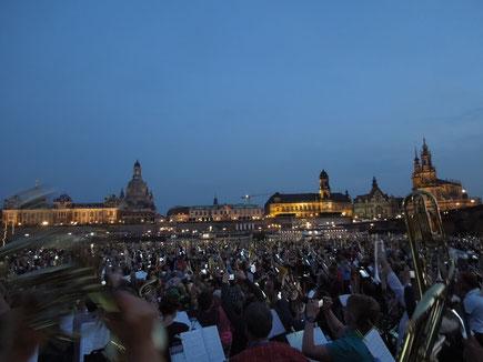 Serenade an der Elbe