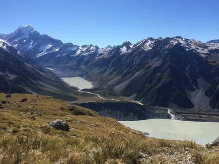Magnifique vue sur les deux lacs