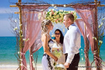 Vita Davidova - General Manager of Red Lotus Wedding Company (Phuket, Thailand)