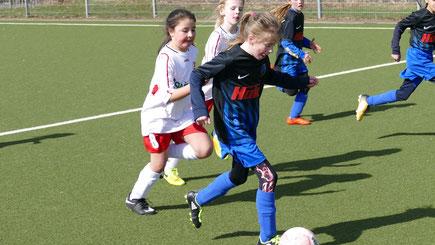 Mädchenfußball-Turnier beim SC Vier- und Marschlande der F-Mädchen