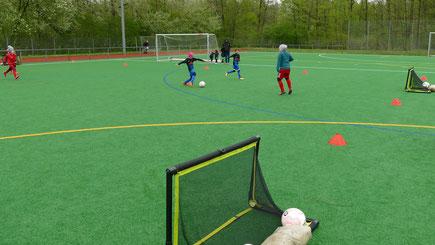Funino Turnier bei der SG Oldesloe-Reinfeld, Soccergirls-Cup, Mädchenfußball