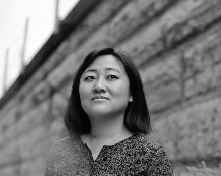 Das Bild zeigt die Autorin Ling Ma.