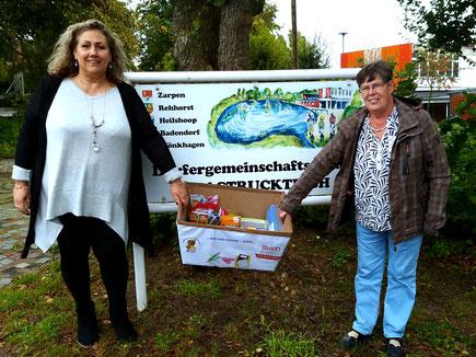 Manuela Fick und Annekatrin Middeldorf – OV Vorstand