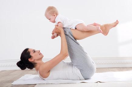 fitdankbaby, Workout, Körperkräftigung, postnatal, Beckenboden, Beckenbodentraining