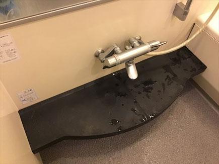 港区 風呂釜おいだき配管洗浄 浴室清掃