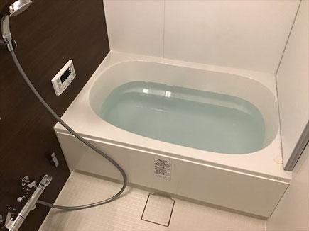 港区賃貸物件の風呂釜おいだき洗浄に行ってきました。